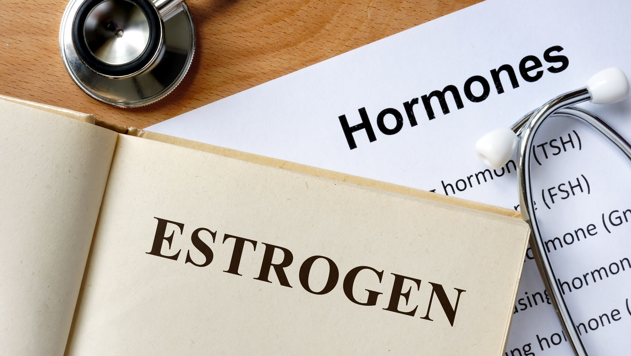 Book and article on estrogen and hormones