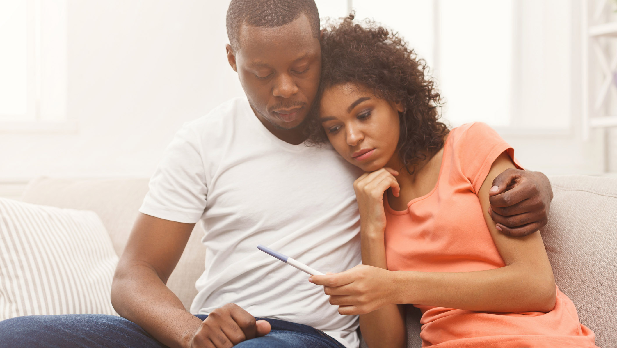 Couple distressed over infertility results