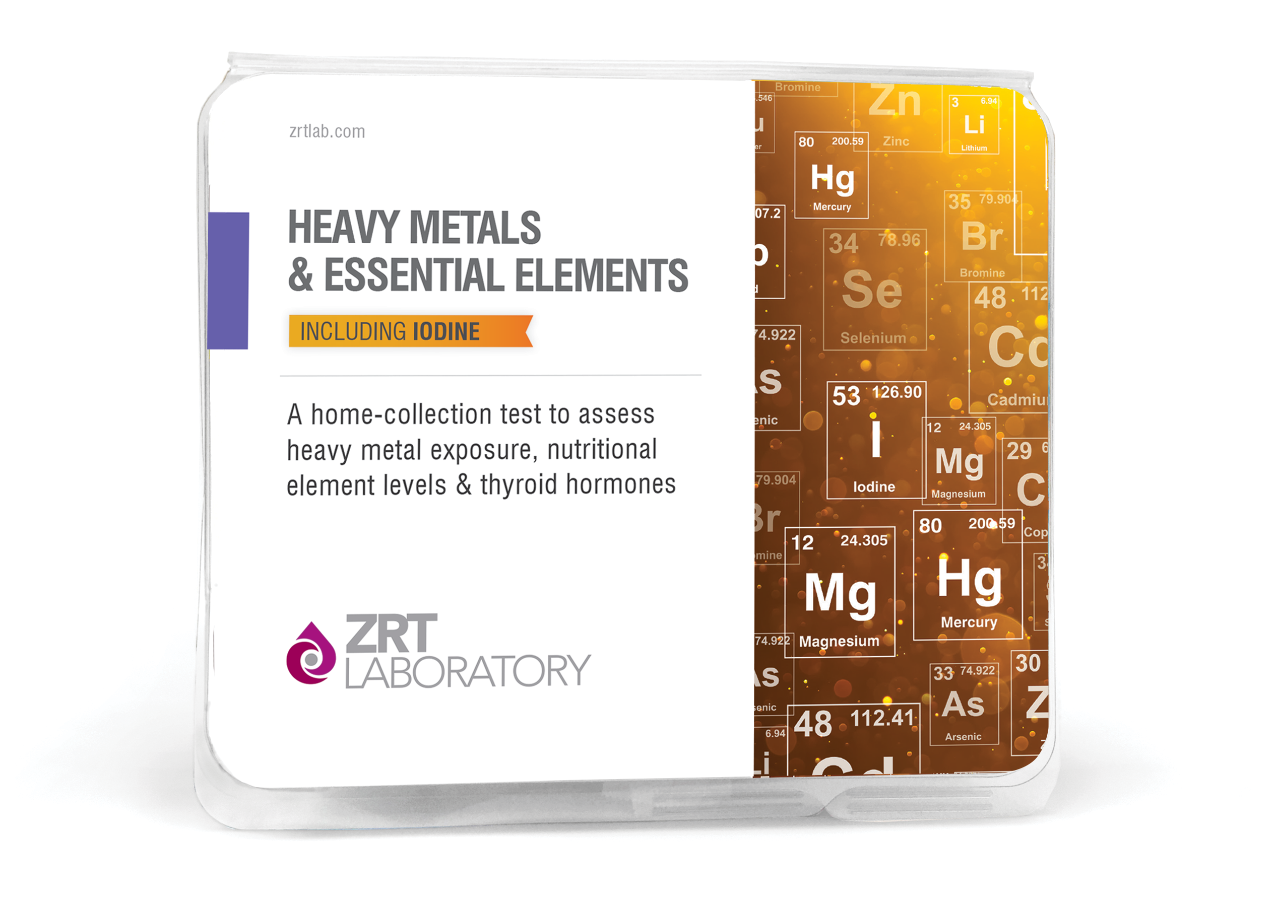 ZRT Laboratory Heavy Metals & Essential Elements Kit