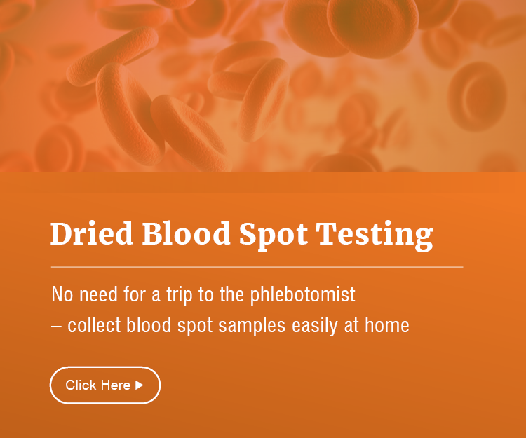 No need for a trip to the phlebotomist - collect bloodspot samples easily at home